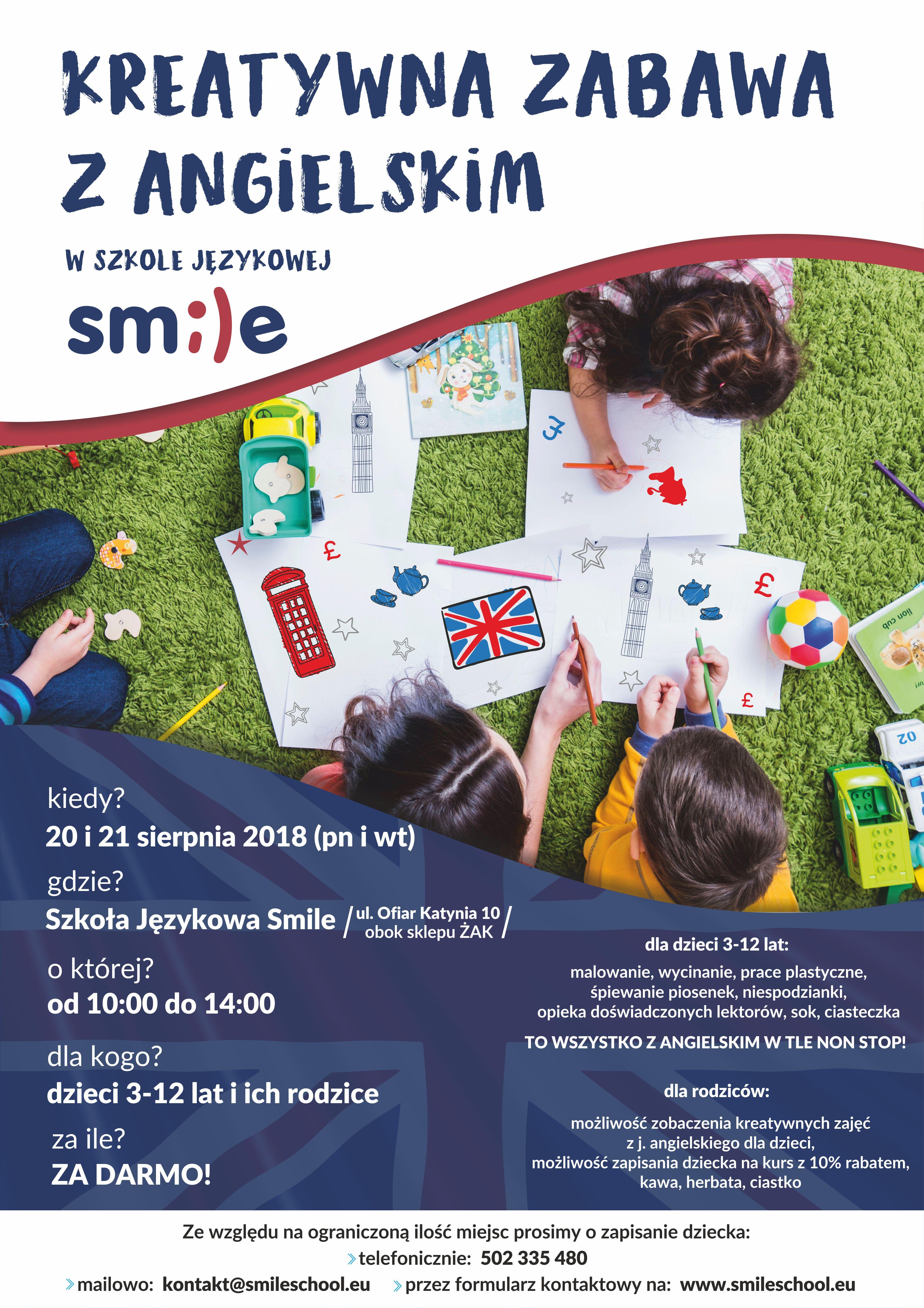 Szkoła Językowa Smile Angielski Ci Się Uśmiecha